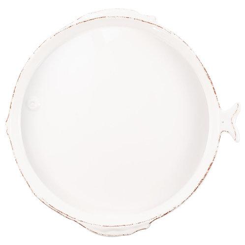 Melamine Lastra Fish Med/Serving Bowl