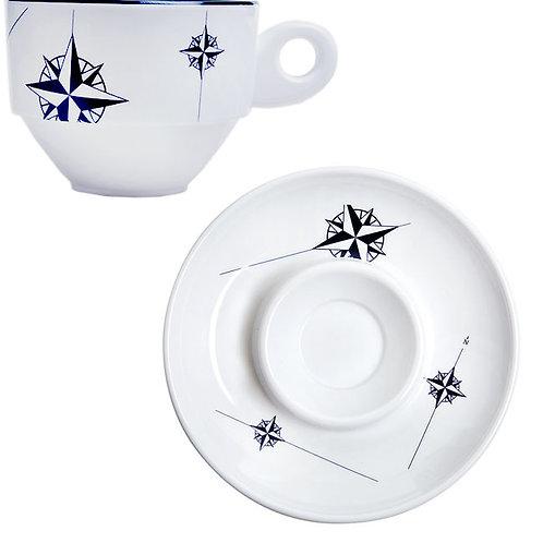 Northwind Espresso Cup & Saucer Set/6