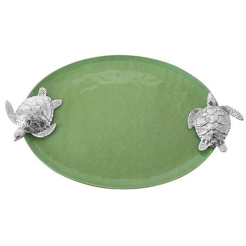 Green Sea Turtle Serving Tray