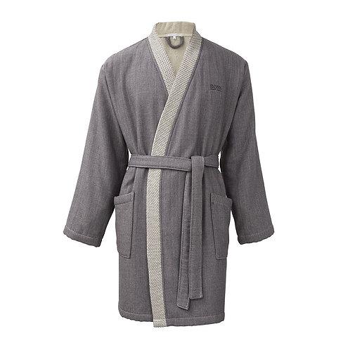 Woven Stripe Kimono