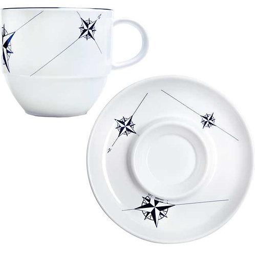 Northwind Tea Cup & Saucer Set/6