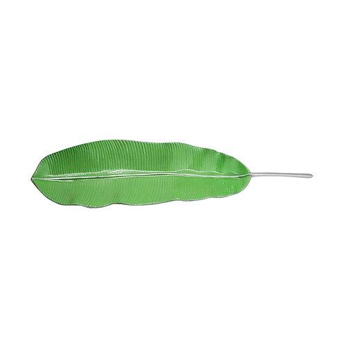 Green Banana Leaf Server