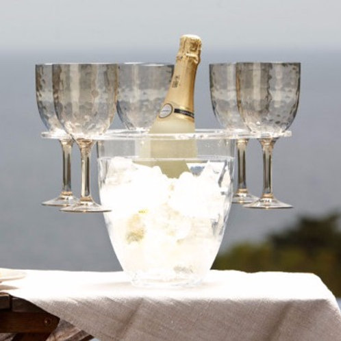 Champagne/Wine  Bucket with Glass Holder