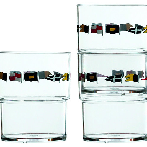 Regata Stackable Glasses Set/6