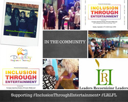 Volunteers at 2nd Annual Inclusion Through Entertainment