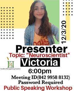 LRL Student Presentation