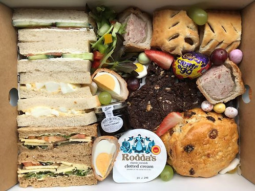 Easter Savoury Afternoon Tea for 1