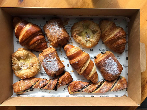 Selection of Freshly Baked Pastries