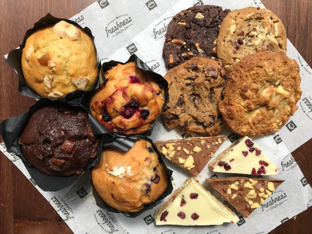 Reward your employees with some delivered delicious treats