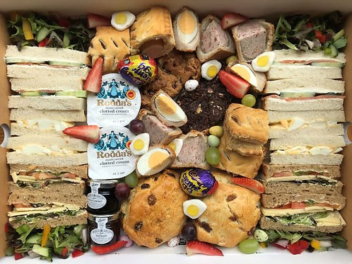 Easter Savoury Afternoon Tea for 2
