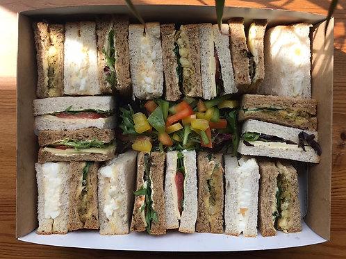 Vegetarian Sandwich Box (20 Pieces)