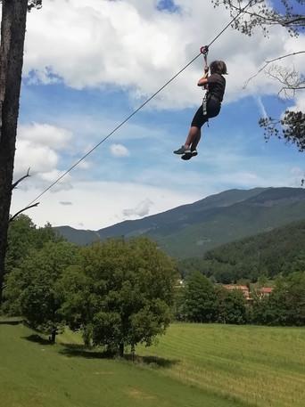 Tirolina Estiula Aventura