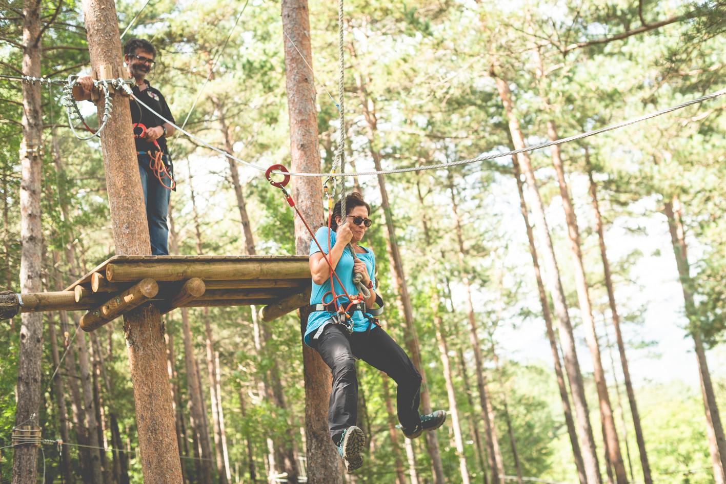 Salto Tarzan LA Bauma