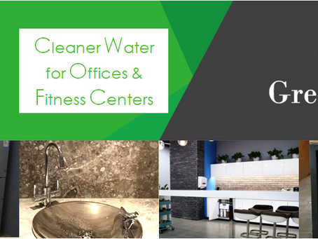 Drinking Water Solutions for Office&Fitness Centers | 办公与健身场所直饮水方案