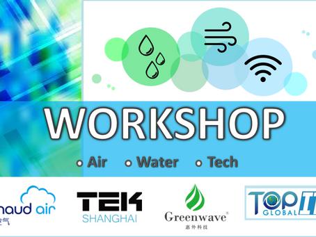 Join Our Expert Workshops for a Better Lifestyle! 上海北京净水、空气与技术咨询会