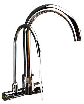 Two Handled Faucets for Tap and Purified Water