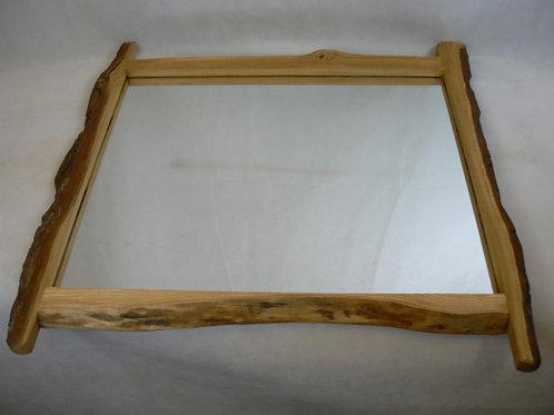 oak and ash framed mirror
