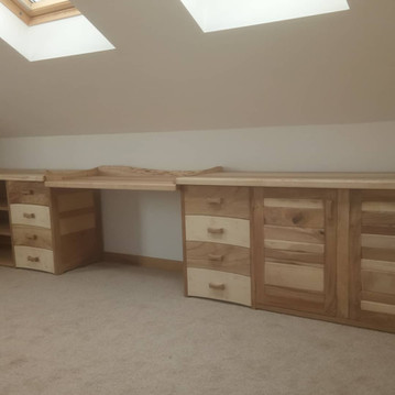dressing table and storage