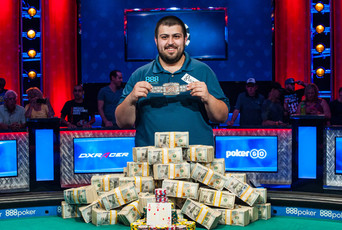 WSOP Main Event - Scott Blumstein vinner årets upplaga och tar hem hela $8 150 000!