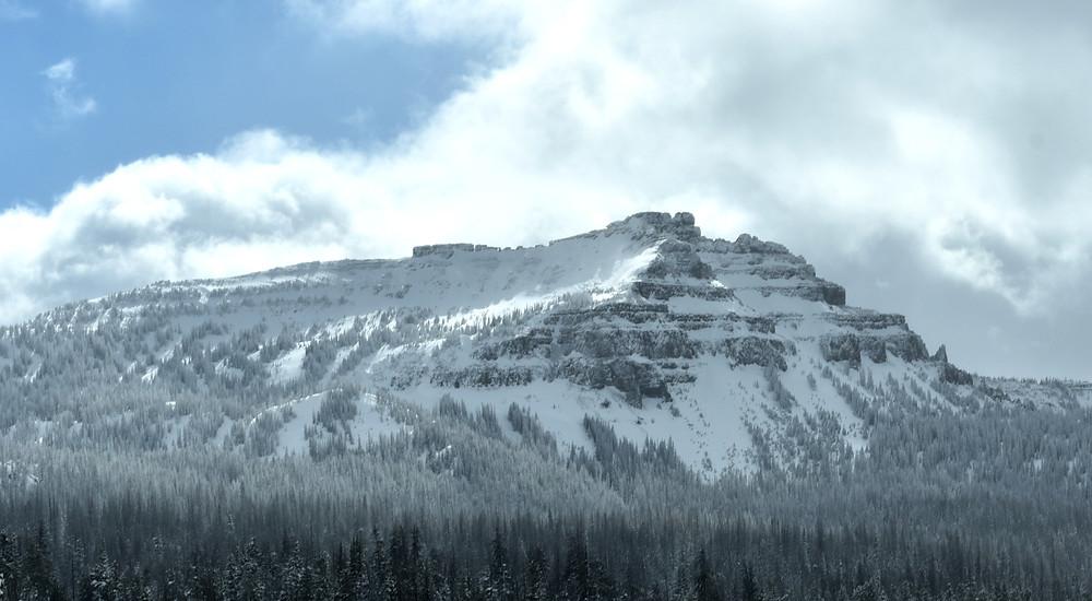 Mountains near Togwotee Pass near Jackson, Wyoming