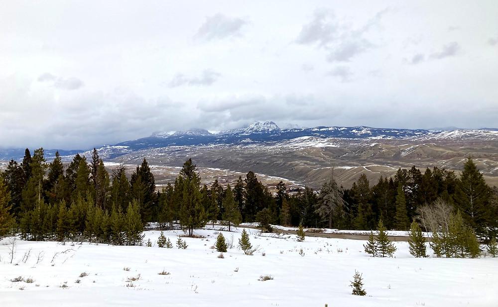 Ramshorn Peak near Dubois, Wyoming