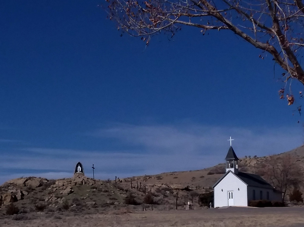 St. Edward's Catholic Church in Kinnear, Wyoming