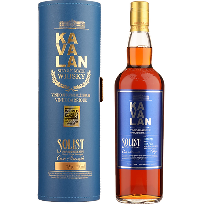 Kavalan Solist Vinho Barrique Cask Strength Single Malt Whisky