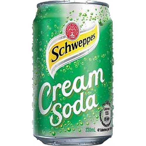 Case of 24 x 330ml cans Cream Soda 玉泉忌廉