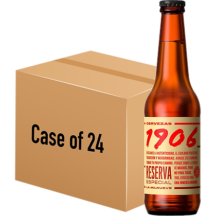 1906 Reserva Especial (Case of 24 x 330ml Bottle)
