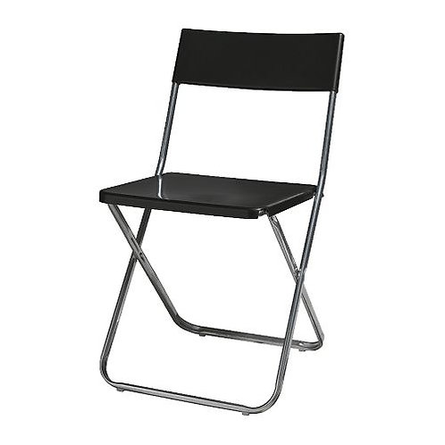 Black Folding Chair 黑色摺椅