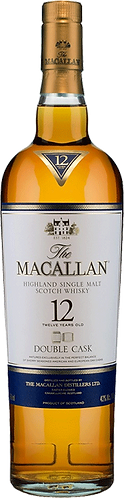 The Macallan 12 Year Old Double Cask Single Malt Scotch Whisky 70cl
