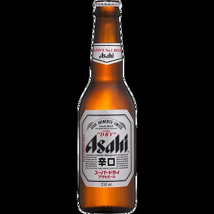 Asahi - Super dry beer (Case of 24 x 330ml Bottles)