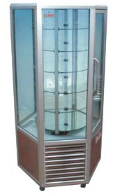 6 Sided Glass Door Display Chiller/Freezer 6門冷凍/冷藏展示櫃