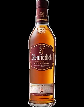Glenfiddich 15 Years Single Malt Whisky