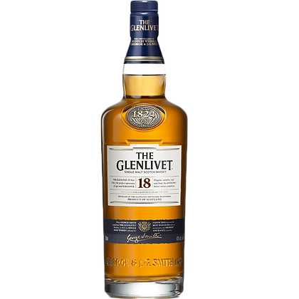 The Glenlivet 18 Years Single Malt Whisky