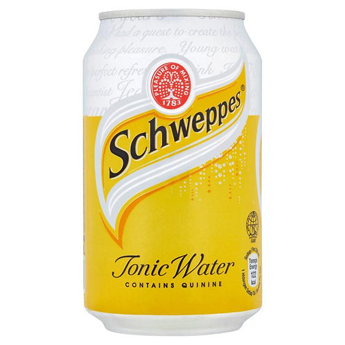 Case of 24 x 330ml cansSchweppes Tonic Water 玉泉湯力水
