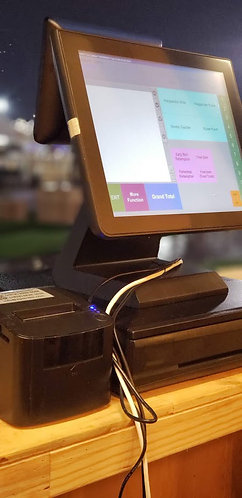 Point of Sale (POS) system (touchscreen)