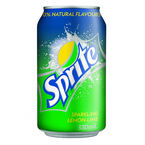 Case of 24 x 330ml cans Sprite 雪碧
