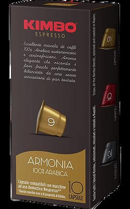 Kimbo Armonia Capsules 100% Arabica - Nespresso® Compatible