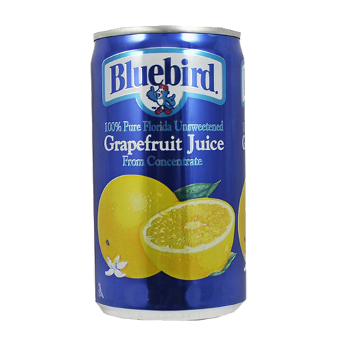 Blue Bird Grapefruit Juice - can 48x6oz