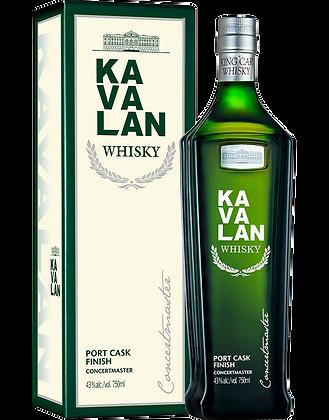 Kavalan Concertmaster Port Cask Finish Single Malt Whisky
