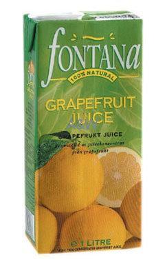 Case of 12 x 1L Grapefruit Juice
