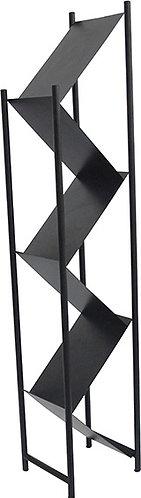 Z Brochure Rack Black Z型小冊子資料架(黑色)