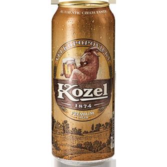 Kozel Premium Lager (Case of 24 x 330ml Cans)