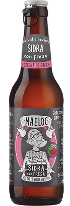 Maeloc Strawberry Cider (Per Bottle)