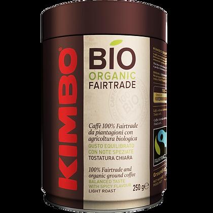 Kimbo Bio Organic Fair Trade Tin Ground Coffee