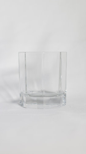 Octagonal Rock Glass 9oz  矮身烈酒杯