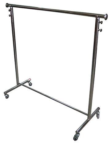 Clothing rails hanging rack