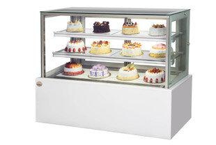 1.2m Square Glass Patisserie Counter