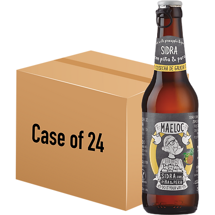Maeloc Pineapple & Pear Cider (Case of 24 x 330ml Bottle)